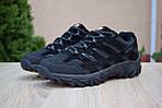 Мужские зимние кроссовки Merrell Moab (черные) - Термо (без меха), фото 2