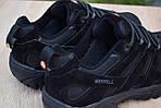 Мужские зимние кроссовки Merrell Moab (черные) - Термо (без меха), фото 7