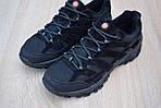 Мужские зимние кроссовки Merrell Moab (черные) - Термо (без меха), фото 6