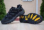Мужские зимние кроссовки Merrell Moab (черные) - Термо (без меха), фото 5