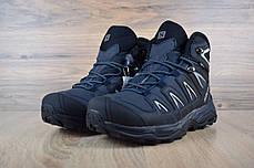 """Зимние кроссовки на меху Salomon X Ultra """"Черные"""", фото 2"""