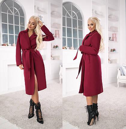 Пальто пояс в расцветках 706030А, фото 2