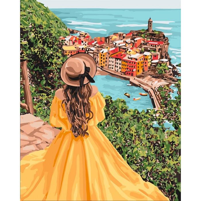 Картина по номерам Удивительный пейзаж KHO4621 Идейка 40 х 50 см (без коробки)