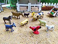 Набор животных для Домиков Барби и ЛОЛ с фермами (10 шт животных)