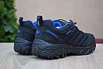 Мужские зимние кроссовки Merrell Vibram (черно-синие) - термо (без меха), фото 2