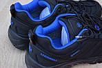 Мужские зимние кроссовки Merrell Vibram (черно-синие) - термо (без меха), фото 5