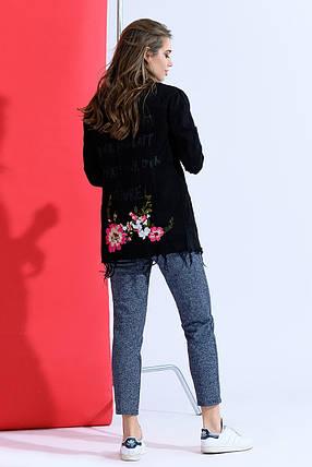 Черная джинсовая куртка, фото 2
