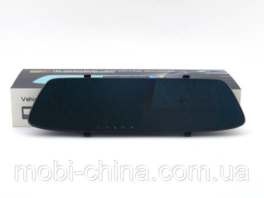 "DV116 Car DVR 5.0"" Touch Dual Lens Driver Recorder Full HD видеорегистратор зеркало 2 камеры, фото 2"