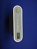 Универсальное зарядное устройство с беспроводной зарядкой Power Bank 20000 mAh Белый, фото 2