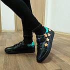 Темно-синие кеды - туфли-кроссовки девочкам, р. 26,28,30,31,34,35, фото 7