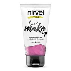 Nirvel. Make up. Прямий пігмент для волосся. Макіяж для волосся. Бузковий 7468