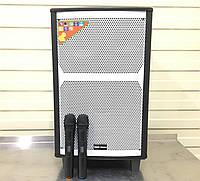 Акумуляторна колонка з мікрофонами RC-1202 200W (FM/USB/Bluetooth), фото 1