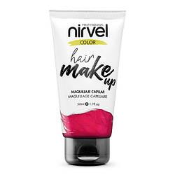 Nirvel. Make up. Прямий пігмент для волосся. Макіяж для волосся. Рожевий 7466