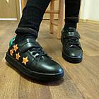Черные кеды - туфли-кроссовки, р. 26, 28, 29, 31, 32, 33, 34, фото 5