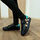 Черные кеды - туфли-кроссовки, р. 26, 28, 29, 31, 32, 33, 34, фото 6