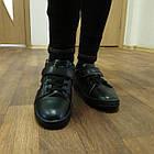 Черные кеды - туфли-кроссовки, р. 26, 28, 29, 31, 32, 33, 34, фото 8