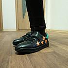 Черные кеды - туфли-кроссовки, р. 26, 28, 29, 31, 32, 33, 34, фото 9