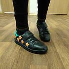Черные кеды - туфли-кроссовки, р. 26, 28, 29, 31, 32, 33, 34, фото 10
