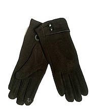 Перчатки женские черные сенсорные 013А