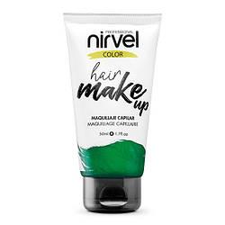 Nirvel. Make up. Прямий пігмент для волосся. Макіяж для волосся. М'ятний 7462