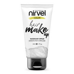 Nirvel. Make up. Прямий пігмент для волосся. Макіяж для волосся. Срібний 7461