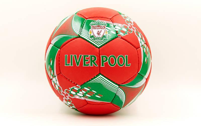 Мяч футбольный №5 Гриппи 5сл. LIVERPOOL FB-6679 (№5, 5 сл., сшит вручную) (FB-6679)