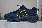 Мужские зимние кроссовки Merrell ICEBERG MOC (черные) - с флисом (до -10), фото 2