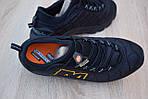 Мужские зимние кроссовки Merrell ICEBERG MOC (черные) - с флисом (до -10), фото 4