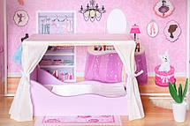 """Деревянный кукольный домик для Барби """"Малибу"""" EcoToys, фото 2"""