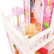 """Деревянный кукольный домик для Барби """"Малибу"""" EcoToys, фото 5"""