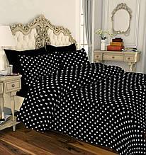 Комплект постельного белья от производителя Звезды на черном из Ранфорс