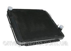 Радиатор охлаждения КамАЗ ЕВРО (4-х рядный) (пр-во ШААЗ)