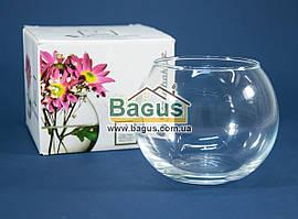 Ваза шар стеклянная (h-8см, d-10см) Pasabahce  (PA-43407)