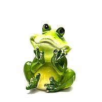 Лягушка копилка керамика (14х11,5х10 см)