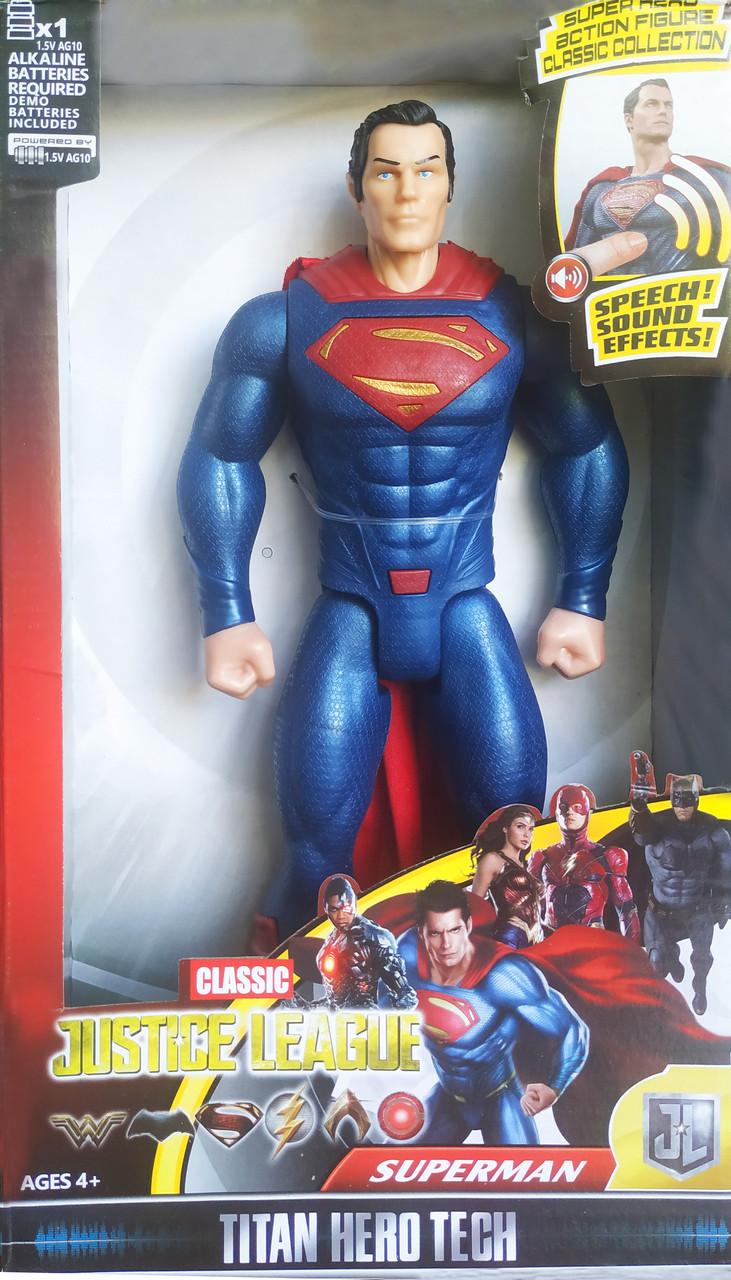 Фигурка герои Марвел (Avengers Мстители) Супер мен | SuperMan 30 см со звуком Marvel
