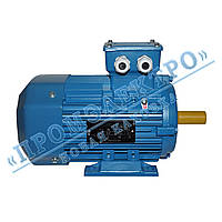 Электродвигатель трехфазный 1,5 кВт 1500 об/мин АИР 80B4 (IM 2081) Лапа