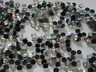 Акриловые стразы.ss16 Crystal AB (3,5-3,9мм)горячей фиксации. 200gross/28.800шт.Китай