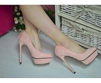 Туфли замшевые Christian Louboutin