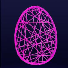 """Фігура з фібергласу """"Пасхальне яйце"""", фото 2"""