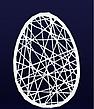 """Фігура з фібергласу """"Пасхальне яйце"""", фото 4"""