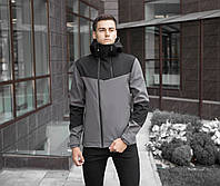 "Куртка Pobedov Jacket ""Pyatnitsa"" Grey-Black (весна-осень)"