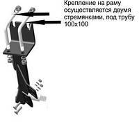 Стойка БДФ-БДФП передняя/задняя с/о (голая без стремянок)