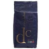Кофе в зернах Don Carlos 1 кг. арабика 40% , робуста 60%  Carraro Caffe S.p.A.Italia