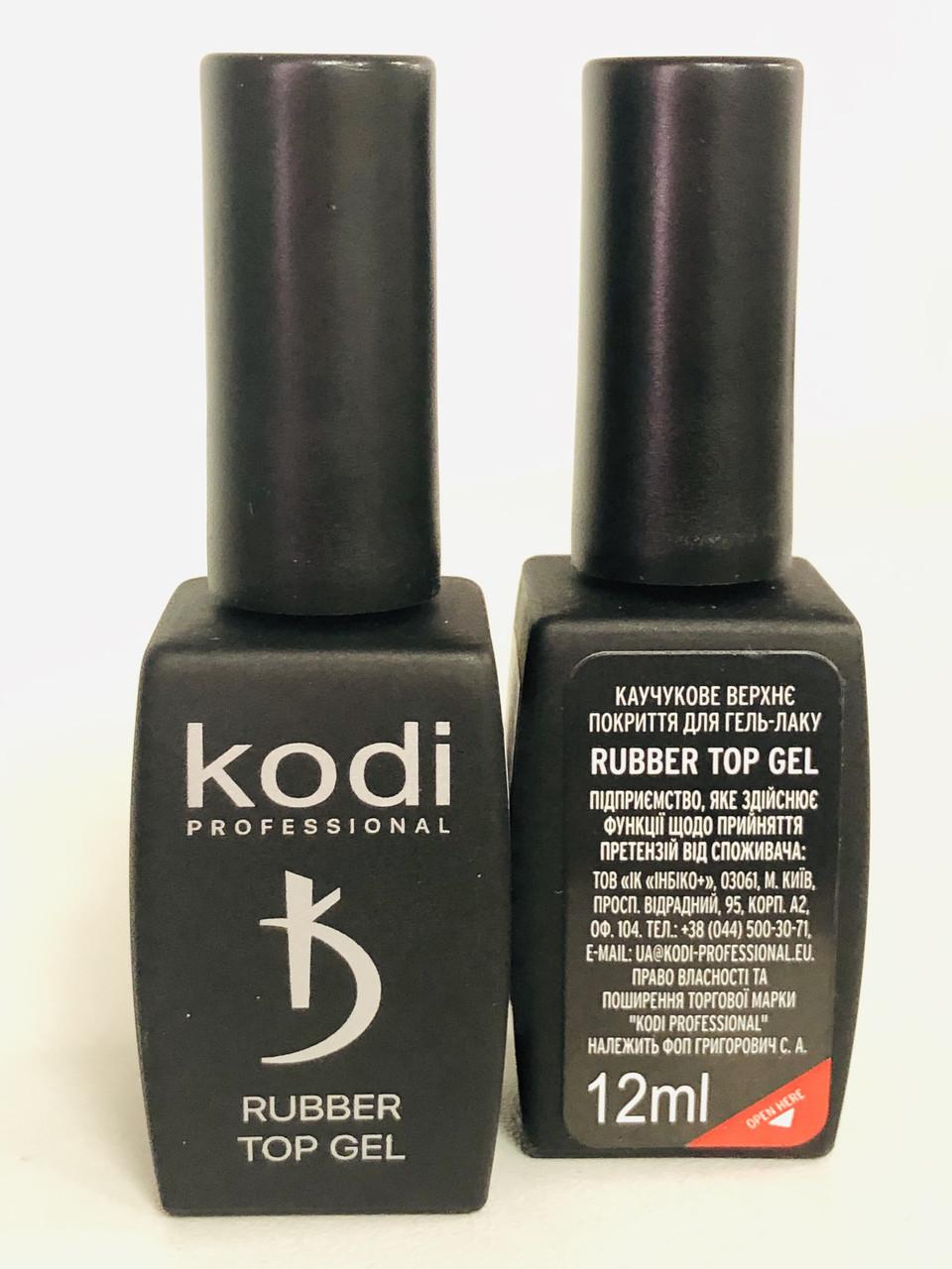 Финишное покрытие Kodi Rubber ТОР, 12 мл