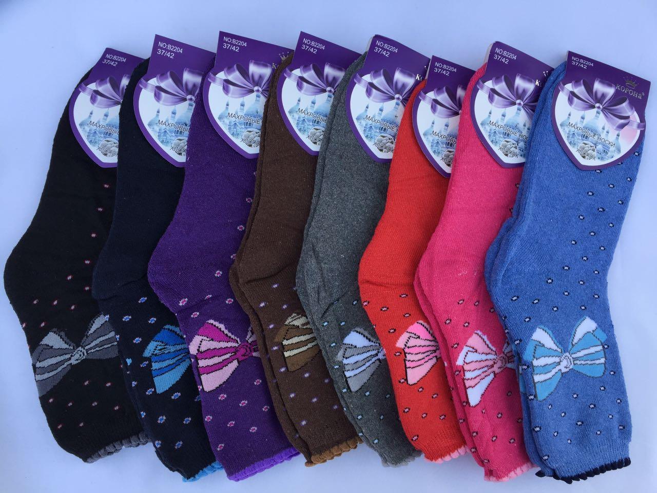 Носки женские махровые Корона Р.-р. 37-42