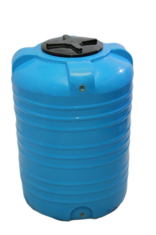 Пищевая бочка пластиковая, бак для воды 500 л