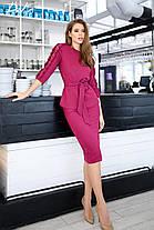 Модный костюм с юбкой, фото 3