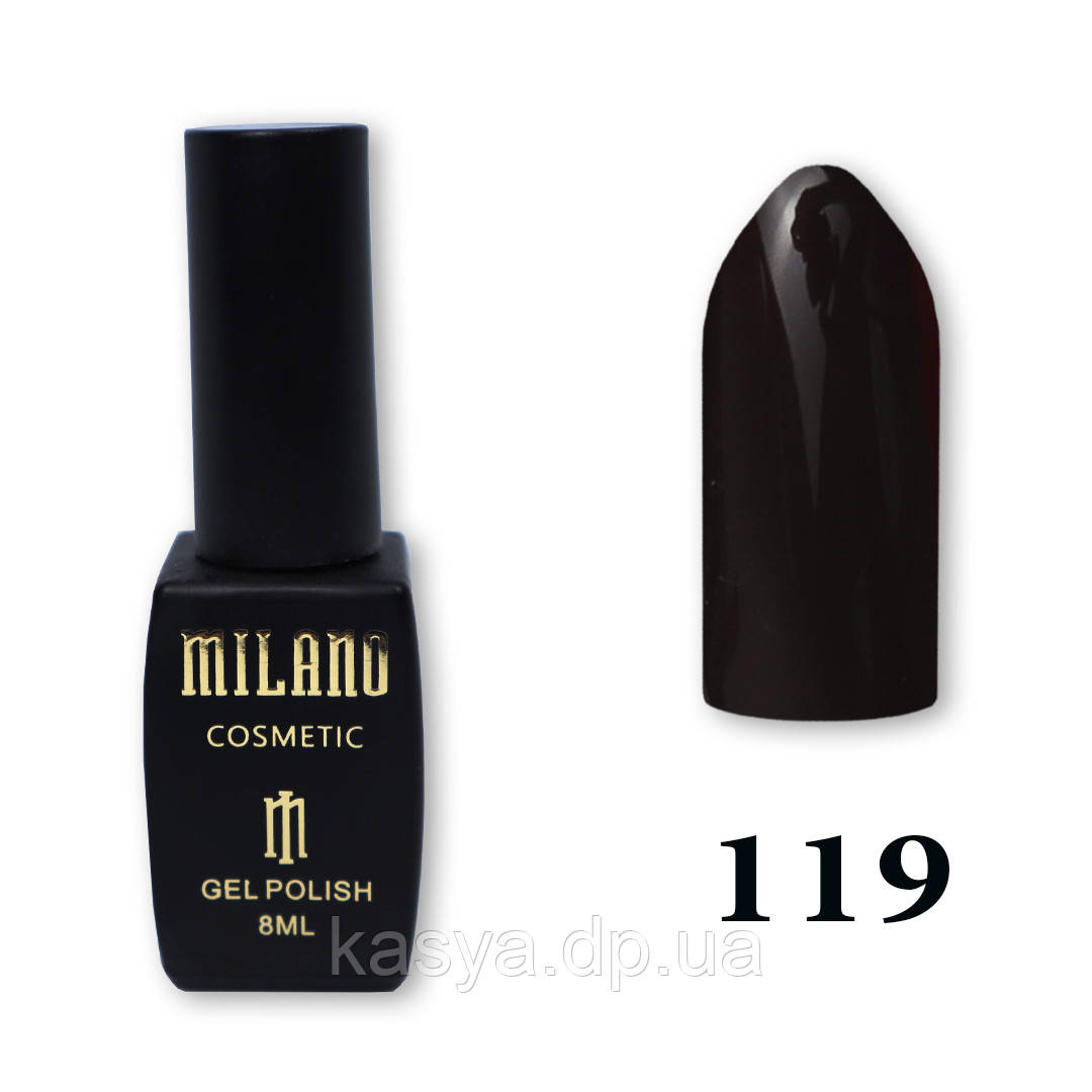 Гель-лак MILANO №119, 8 мл