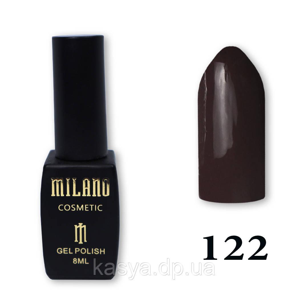 Гель-лак MILANO №122, 8 мл