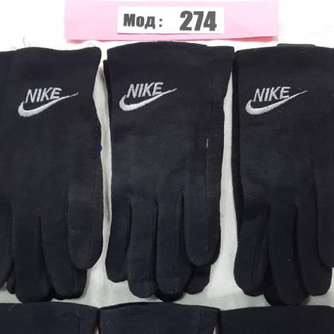 Мужские перчатки осень, кашемир, фото 2